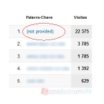 O que é o (not provided) no Google Analytics?