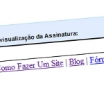 Como Inserir Links na Assinatura do GMAIL